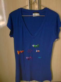 camiseta peixinhos