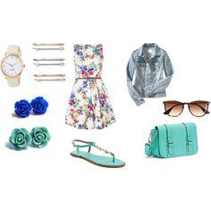 """Summer dress"" by danielaroblesb on Polyvore"