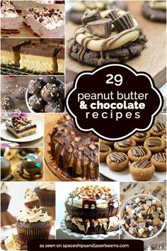 29 Delectable Peanut Butter Chocolate Recipes