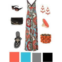Love maxi dresses for the Spring and Summer!