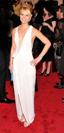 Claire Danes in J. Mendel and Van Cleef & Arpels jewelry  Met ball Gala 2012