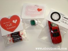 Homemade Valentines for Kids - About A Mom easy and the kids will love it!!!!! Better than candy!!!!!