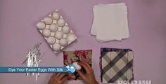 Dye Your Easter Eggs With Silk - Foood Style