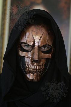 Copper Skull by SatanaelArt on Etsy, $90.00