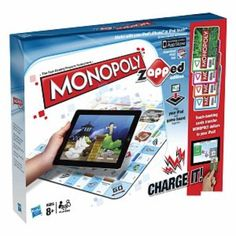 I'm learning all about Hasbro Monopoly Zapped Ages 8 , 1 ea at @Influenster!