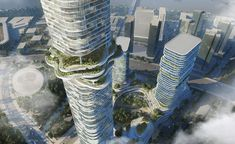 Büro Ole Scheeren has launched designs for Empire City, a mixed-use development in Ho Chi Minh City that reflects the energy of the city's economic growth and reconnects the urban environment to the tropics. While it is Büro Ole Scheeren's first projec...
