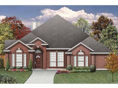 New American House Plan with 2532 Square Feet and 5 Bedroomss