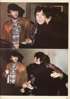 Harry Nilsson and John getting kicked out of the Troubador for heckling The Smothers Brothers