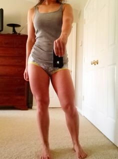 I have naturally big thighs... would love if mine ended up like this :) If God gave you naturally large thighs listen up | MyFitnessPal.com