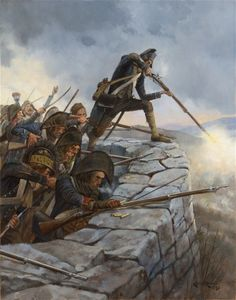Corporal Rouach at Monte Negino  17th Light Infantry- April 11, 1796-Keith Rocco