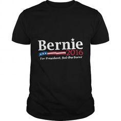 Awesome Tee Bernie Sanders For President 2016 TShirt T shirts