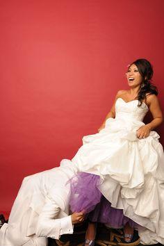 Dying my wedding crinoline, petticoat diy - adorkableduo.com