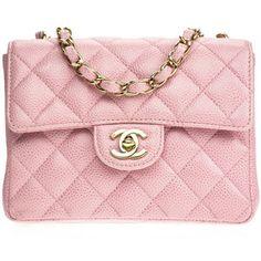 Pre-owned Chanel Vintage Pink Mini Flap Shoulder Bag