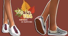 The sims 4 kids slip on vans by hollowsprings 彡 sims 4 cc 彡 Sims 4 Cc Kids Clothing, Sims 4 Mods Clothes, Sims 4 Cc Skin, Sims 4 Mm Cc, Sims Mods, The Sims 4 Bebes, Pelo Sims, Sims 4 Children, Sims 4 Gameplay