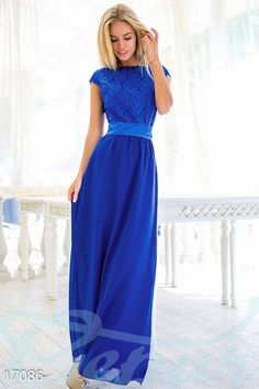 Элегантное вечернее платье