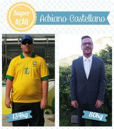 Superação Adriano Castellano - Blog da Mimis - Homem elimina 54Kg em 1 ano de forma rápida e sem cirurgia.