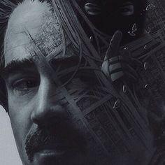 True Detective Season 2. Detail.Yuri Shwedoff Yuri Shwedoff, True Detective Season, Double Exposure Photography, Colin Farrell, Film Movie, Marie, Hollywood, Fan Art, Season 2