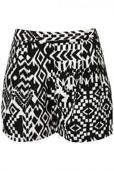 Pantalón corto tribal TopShop