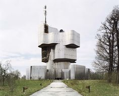 The Petrova Gora monument was designed by Vojin Bakić and built in 1982. It was dedicated to the people of Kordun and Banija who died during World War II. It was dismantled in 2011.