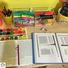 """Photo from @color_and_stationery -  My desk in this summer session's study 📖📝🌈 • • • • #m #study #beautiful #studygram #me #lifestyle #studying #love #studyblr #university #no #beautifulday #nature #fashion #photooftheday #studyspo #beautifulgirl #beautifulfeet #lifestyleblogger #student #beautifulgirls #beautifulview #beautifulnight #instagood #style #sky #like4like #beautifuleyes #beautifulsky #beautifullife"" by @inspiracaonosestudos. #capture #pictures #pic #exposure #photos #snapshot…"