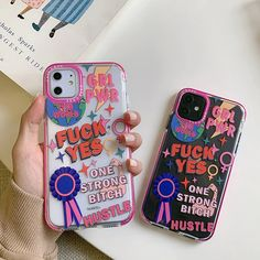 Funny Personality Word Phone Case For iphone