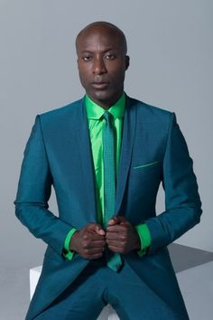 Man of Style. Life is too short to wear anything but colours Ozwald Boateng, Camo Fashion, Pop Fashion, Mens Fashion, Fashion Styles, Dapper Gentleman, Gentleman Style, Sharp Dressed Man, Well Dressed Men