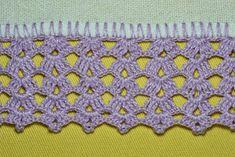De São Paulo, para nos visitar, chegou a nossa amiga querida Soninha! Trouxe panos de prato com barradinhos de crochê feitos por ela. ... Crochet Shawl, Crochet Lace, Crochet Stitches, Crochet Edging Patterns, Crochet Borders, Elephant Blanket, Blouse Neck Designs, Lace Border, Cross Stitch Kits