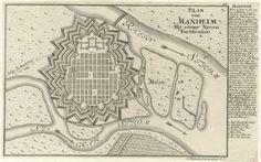 BAROK. Mannheim w Badenii – układ urbanistyczny na planie szachownicy (tzw. Kwadratowe Miasto).
