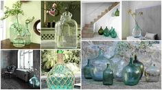 Demijohns in decoration | My desired home