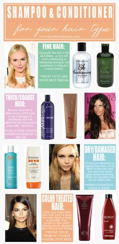 Shampoo Conditioner for your hair type - Barefoot Blonde by Amber Fillerup Clark Thick Coarse Hair, Good Shampoo And Conditioner, Barefoot Blonde, Best Shampoos, Tips Belleza, Perfume, Hair Health, Damaged Hair, Hair Type