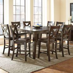 Canadel Custom Dining - High Dining Customizable 5 Piece Rectangular ...