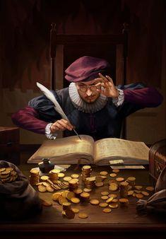 Warhammer Fantasy, Fantasy Rpg, Medieval Fantasy, Dark Fantasy, Fantasy Portraits, Character Portraits, Fantasy Artwork, Fantasy Character Design, Character Concept