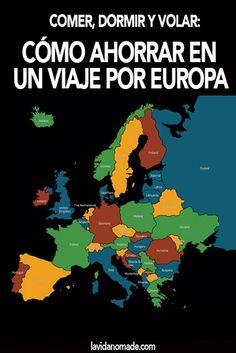 Comer, dormir y volar: cómo ahorrar en un viaje por Europa
