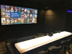Show Us Yours: Tony's amazing custom-built media room is one of the most impressive we've ever seen. From Runco projector to Kaleidescape server to LED backlit bar top, it's the stuff dreams are made of.