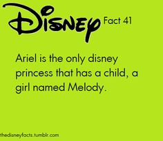 The Disney Facts, Search results for: ariel