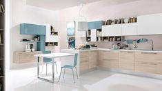 Cuisine colorée à Lyon, cuisiniste couleurs, Les cuisinies d'Arno Brotteaux