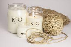 contenitori di riciclo, candele naturali, laboratorio artigianale, KiiO Candles, Lecce, Puglia