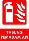 Kumpulan Rambu-Rambu Saranan Darurat Kebakaran (Safety Sign)