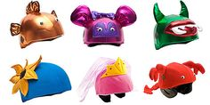 Why don't they make these in adult sizes? Seriously. - Bike Helmet Covers