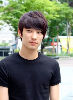 Asian Men Hairstyles - Medium Hair Cool Hairstyle