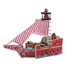 Buy Chad Valley Wood Shed Pirate Ship at Argos.co.uk, visit Argos.co.uk to shop online for Toy boats, Baby activity toys, Vehicles and playsets