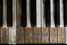 It is very important to take piano lessons in order to play the piano. You have to learn to read piano music if you plan to be a serious piano player. If you try to look into history, you will notice that most of the great piano p Piano Keys, Piano Music, Image Emotion, Touches De Piano, Old Pianos, Piano Lessons, Wabi Sabi, I Love Music, Have Time