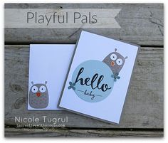 Playful Pals by becreativewithnicole.com
