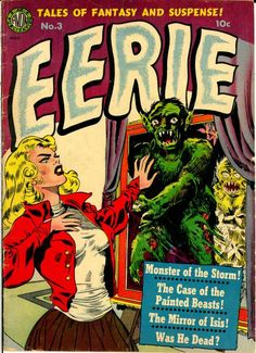 Comic Book Cover For Eerie v1 #3