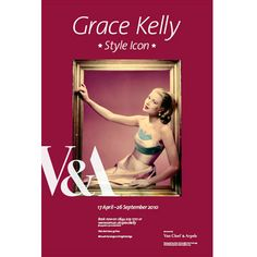 The Grace Kelly Style Icon was a wonderful exhibition done by the V&A.