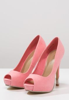New Look - ROUTES - Peeptoes - coral