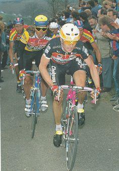 Gianni Bugno... Amstel Gold Race ´90