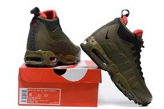 cb20c6925a Nike Air Max 95 Sneakerboot Men's Size 10 Winter Boot Olive NEW Green  806809 202 #