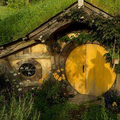 Curb appeal #Hobbiton #TheHobbit