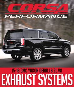 VIDEO: Corsa Exhaust for 2015-2016 GMC YUKON DENALI 6.2L V8 #14826 and #14826BLK: Exhaust VIDEO CLIP: Order a CORSA… #Blog #New_Products